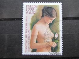*ITALIA* USATI 2000 - SIMPOSIO MALATTIE DEL SENO - SASSONE 2453 - LUSSO/FIOR DI STAMPA - 1991-00: Usati