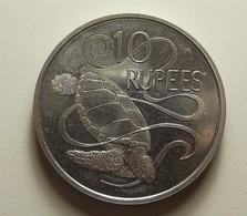 Seychelles 10 Rupees 1974 Varnished - Seychelles