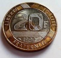 FRANCE - 20 FRANCS MONT SAINT MICHEL - 1992   ((B913) - France