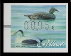 ALAND 2012 - PATOS - DUCKS - 1 STAMP LABEL - Entenvögel