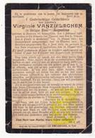DP EZ Virginie VanZieleghem - Zr Augustine ° Beveren Roeselare 1834 † Zuidschote Ieper / Klooster Lendelede & Zuidschote - Images Religieuses