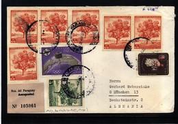 Paraguay 1972 Interesting Airmail Registered Letter - Paraguay