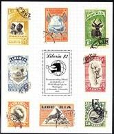 Liberia 1989 Yvertn° Bloc 123 *** MNH Cote 50 FF World Stamp Expo Washington - Liberia