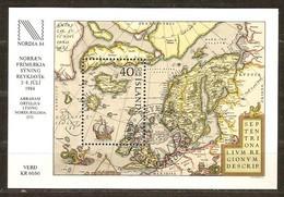 Islande Ijsland 1984 Yvertn° Bloc 6 (°) Oblitéré Used Cote 17,50 Euro Nordia 1984 - Blocs-feuillets