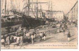 L200A_388 - Marseille - 1920 Le Quai De Rive-Neuve (Débarquement Du Sucre) - Vecchio Porto (Vieux-Port), Saint Victor, Le Panier