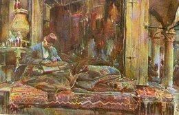 (89)  CPA  Constantinople Stamboul  Grand Bazar Vendeur De Tapis (bon état) - Turquie