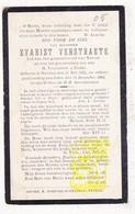 DP Gemeenteraadslid Evarist Verstraete ° Nevele Deinze 1845 † 1905 - Images Religieuses