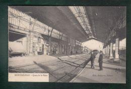 CPA (31) Montréjeau  - Quais De La Gare - Montréjeau