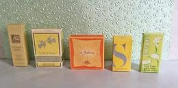 Lot De 5 Miniatures De Parfum Avec Boites (M0768) - Miniatures De Parfum