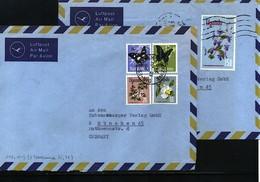 Uganda 1974 Two Interesting Airmail Letter (one With Mixed Uganda - Tanzania Postage) - Uganda (1962-...)