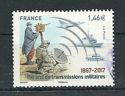 FRANCIA 2017 -  150 Ans De Transmissions Militaires - Cachet Rond - France