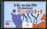 Jersey 1994 Yvertnr. Carnet C653 653-658*** MNH Cote 38 Euro - Jersey