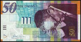 ISRAEL - 50 New Sheqalim 2001 UNC P.60 B - Israel