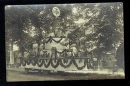CPA 21 - Carte Photo Carnaval D'Auxonne ? (à Vérifier) -  Char MTM De Tournus : Casserolle - Personnages