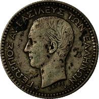 Monnaie, Grèce, George I, 50 Lepta, 1874, Athènes, TB+, Argent, KM:37 - Grèce