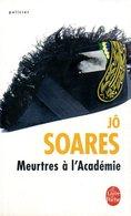 Meurtres à L'académie Par Soares (ISBN 9782253125181) - Livres, BD, Revues