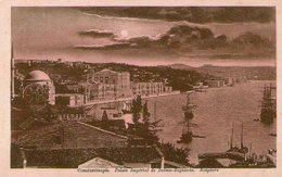 (89)  CPA  Constantinople  Bosphore Palais Imperial De Dolma Baghtsche  (bon état) - Turquie