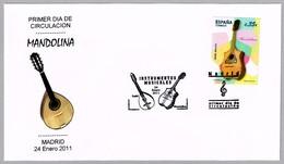 Instrumentos Musicales - Musical Instruments - MANDOLINA - SPD/FDC Madrid 2011 - Música