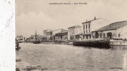 MARSEILLAN QUAI NORD-EST - Marseillan