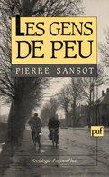 Sociologie : Les Gens De Peu Par Sansot (ISBN 2130447473 EAN 9782130447474) - Sciences