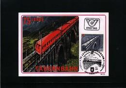 Oesterreich / Austria 1984 75 Years Of Tauernbahn Maximumcard - Trains