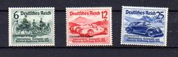 1939  Allemagne Salon Automobile, 627 / 329*, Cote 19 €, - Allemagne