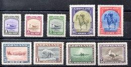 Serie De Groenlandia N ºYvert 10/18 * OFERTA (OFFER) - Grönland