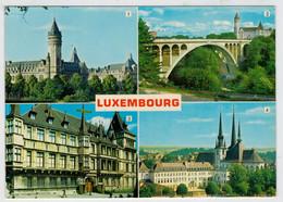 LUXEMBOURG   CAISSE  D' EPARGNE                      (VIAGGIATA) - Lussemburgo - Città