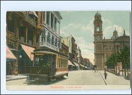 XX004472/ Montevideo Calle Sarandi  Straßenbahn AK Uruguay 1910 - Ansichtskarten