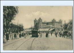 XX004450/ Montevideo  Straßenbahn Tram  Uruguay AK Ca.1912 - Ansichtskarten