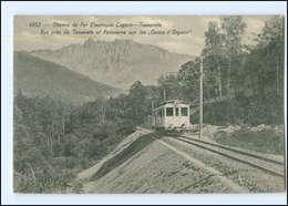 XX004446/ Chemin De Fer Lugano - Tesserete-Bahn  Bergbahn Schweiz 1911  - Sin Clasificación