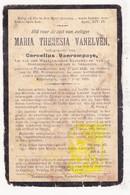 DP Maria Theresia Vanelven ° Tessenderlo 1843 † Engsbergen 1912 X Cornelius Vanrompaye / Okselaar - Images Religieuses