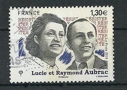 FRANCIA 2018 - Lucie Et Raymond Aubrac - Cachet Rond - Gebruikt