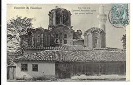 1910 - CP De SALONICCO / SALONIQUE Pour La Belgique - LEVANTE - BUREAU ITALIEN EN TURQUIE - Grèce