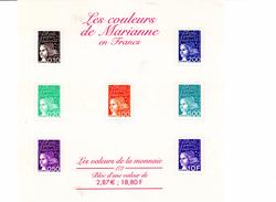 Bloc   Feuillet. N° 41  Neuf, Les Mariannes, Valeur Faciale 2,87 Euros - Sheetlets