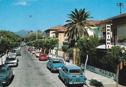 LUCCA - Lido Di Camaiore  - Via Carducci - Pensione Mariani - Auto Fiat 850 - 1984 - Lucca