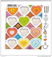 Bloc Feuillet Coeurs Maurizio Galante, N° 131 - Sheetlets