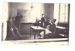 78 Ecole De Saint Cyr Cpa Carte Animée Soldat Militaire Edit ND N°3 En Colle De Tapir - St. Cyr L'Ecole