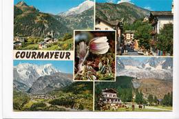 COURMAYEUR, Italy, 1987 Used Postcard [22915] - Italy