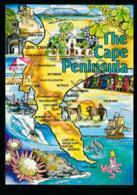 Suid-AfrikaThe Cape Peninsula - TOPO [AA36 2.487 - Afrique Du Sud