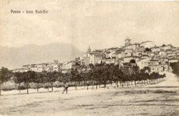 Penne (Pescara) - Cartolina Antica PANORAMA LATO SUD-EST, Anni '20 - OTTIMA R2 - Pescara