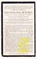 DP Koster - Carolus F. Van Den Abeele ° Brugge 1826 † Veurne 1902 X P. De Tremmerie Xx Th. VanHoutte - Images Religieuses