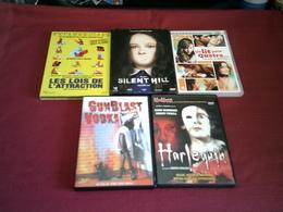 LOT DE 5 DVD   POUR 10 EUROS ( Lot 40 16 15 ) - DVD