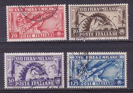 Italie, N° 374/77, Fiera Di Milano, Oblitéré, Cote 2.5€  ( W1910/050) - Italia
