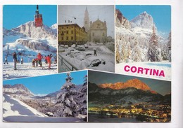 Italy, CORTINA, Multi View, Used Postcard [22916] - Other Cities