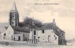 60 - VER : La Place De L'Orme - CPA - Oise - Autres Communes