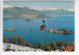 LAGO MAGGIORE, Isole Borromee, Funivia Stresa-Mottarone, Unused Postcard [22917] - Italy