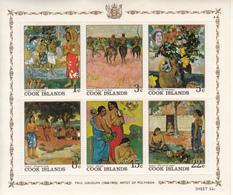 COOK ISLAND - QUADRI DI PAUL GAUGUIN - NUOVI - Cook