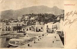 Casamicciola (Napoli) - Cartolina Antica PANORAMA, Anno 1902 - OTTIMA R2 - Napoli