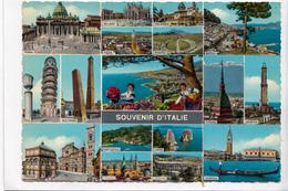 SOUVENIR D'ITALIE, Souvenir Of Italy, 1970 Used Postcard [22919] - Italy